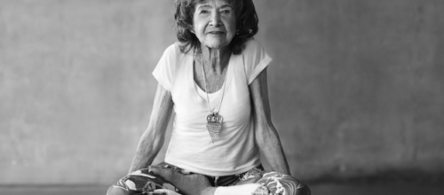 The World's Oldest Yoga Teacher Has Some A+ Advice